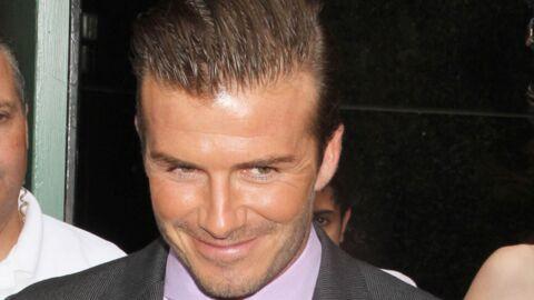 David et Victoria Beckham complètement dingues d'Harper
