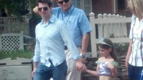 PHOTO Tom Cruise emmène sa fille Suri à Disney World