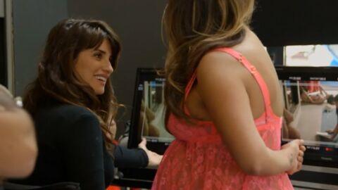 Penélope Cruz fait tourner sa sœur et Javier Bardem dans une pub pour de la lingerie