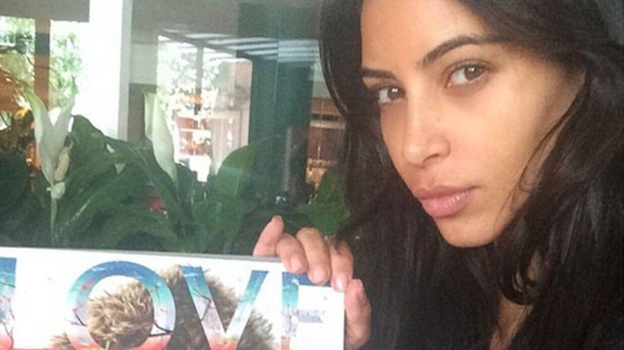 PHOTO Kim Kardashian s'affiche sans maquillage