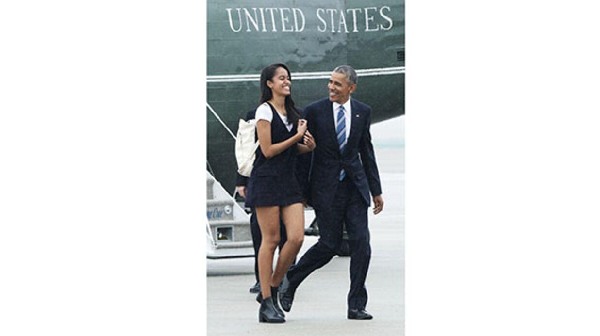 VIDEO Malia Obama: mini-short et danse sexy… la fille du président américain se lâche!