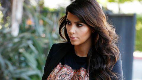 Kim Kardashian est à l'aise avec ses kilos de grossesse