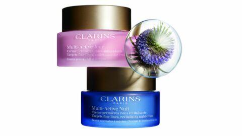 Clarins dévoile ses nouveaux soins visage Multi-Active