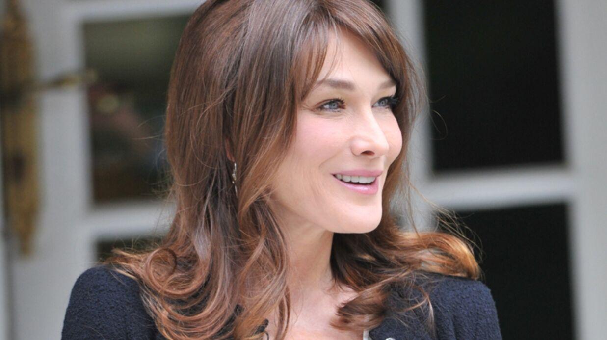 Carla Bruni: première interview depuis la naissance de Giulia
