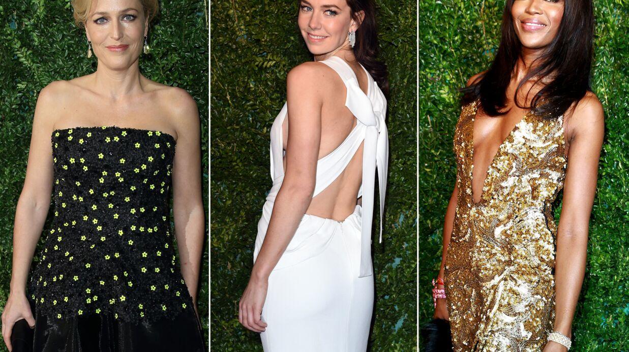 PHOTOS Naomi Campbell ultra sexy, David et Victoria Beckham collés-serrés aux awards du Théâtre