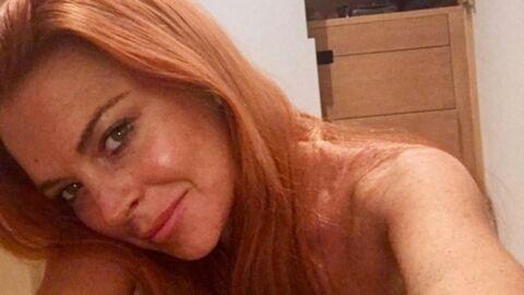 PHOTO Lindsay Lohan: topless, elle se plaint d'avoir les seins qui tombent…