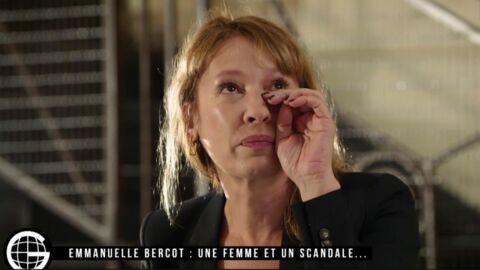 VIDEO Emmanuelle Bercot fond en larmes en pleine interview