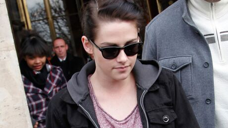 PHOTOS Kristen Stewart : shopping dans un magasin pour bébé à Paris