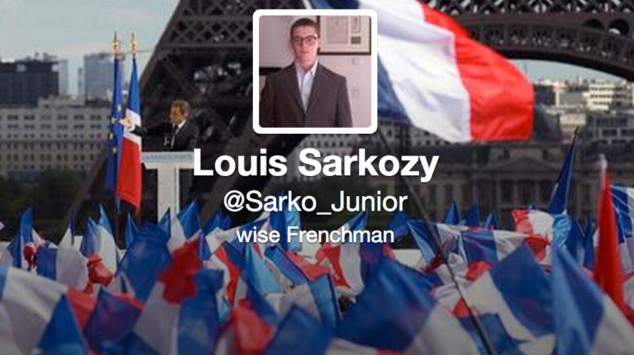 Louis Sarkozy est sur Twitter (et il se fait gronder par sa mère)