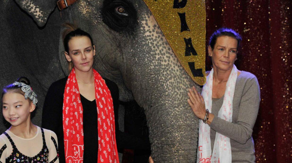 DIAPO Stéphanie de Monaco et sa fille Pauline fêtent le cirque