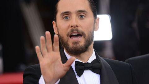 Jared Leto (Dallas Buyers Club) : malade, il refuse qu'on lui serre la main