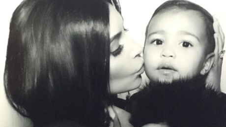 PHOTOS Kim Kardashian pense que sa fille en a marre d'être prise en photo