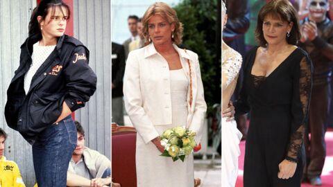 PHOTOS Anniversaire de Stéphanie de Monaco: l'évolution de son look au fil des ans