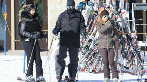DIAPO Les West-Kardashian s'éclatent sur les pistes de ski