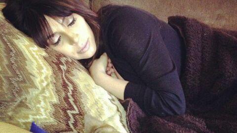 PHOTO Kim Kardashian très fatiguée pour sa première apparition post accouchement