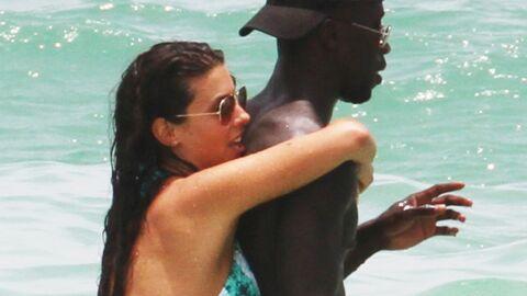 PHOTOS Bacary et Ludivine Sagna torrides sur une plage de Floride