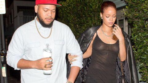 PHOTOS Rihanna en haut transparent et sans soutien-gorge pour dîner avec son frère