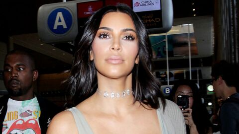PHOTOS Kim Kardashian dévoile un impressionnant décolleté saucissonné dans une robe