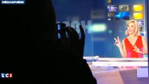 VIDEO En coulisses de son dernier JT, Laurence Ferrari a pleuré