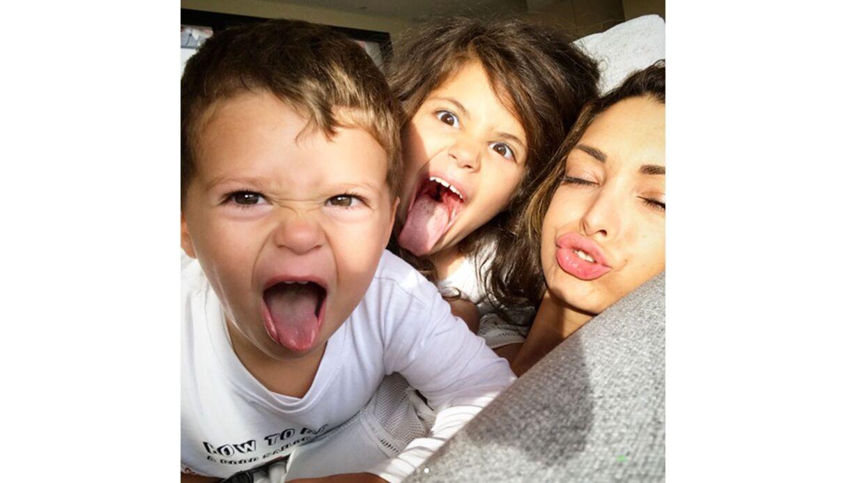 PHOTOS Emilie Nef Naf pose avec ses deux enfants et ils sont adorables!