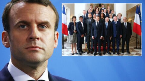 Emmanuel Macron énervé par la photo officielle de son gouvernement: il la trouve mauvaise