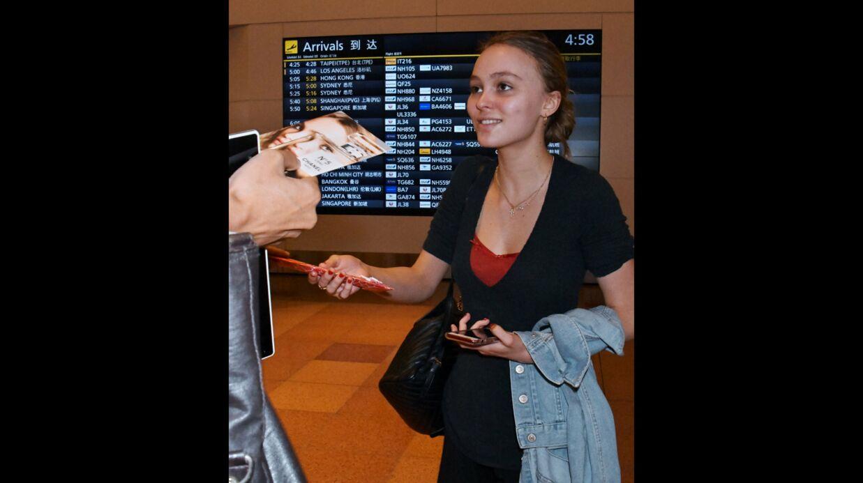 PHOTOS Lily-Rose Depp: à Tokyo, elle ne s'encombre pas du maquillage
