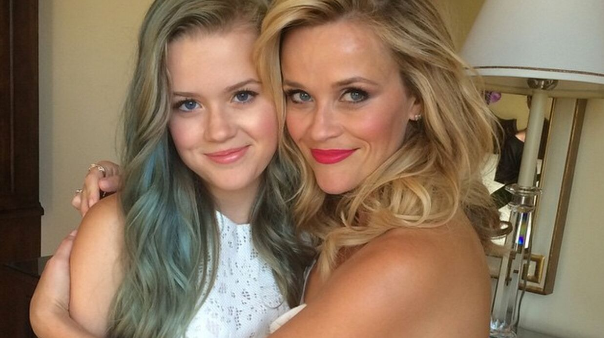 PHOTO Reese Witherspoon pose avec sa fille Ava sur Instagram