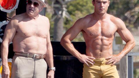 PHOTOS Zac Efron et Robert De Niro jouent les Messieurs Muscles sur le tournage d'un film