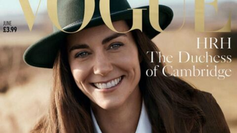 PHOTO Kate Middleton pose pour les 100 ans de Vogue