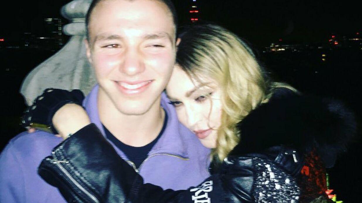 Madonna poste une photo de ses retrouvailles avec son fils Rocco