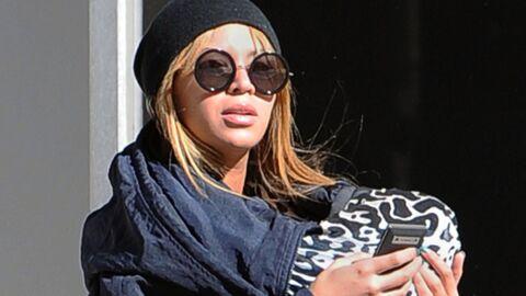 Beyoncé allaite sa fille Blue Ivy en public