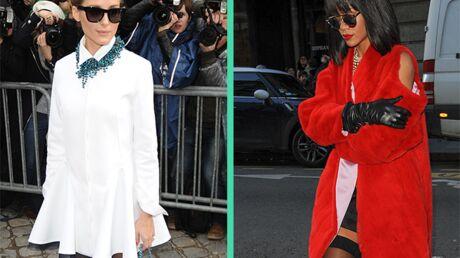 LOOK Rihanna ridiculisée au défilé Dior par Olivia Palermo