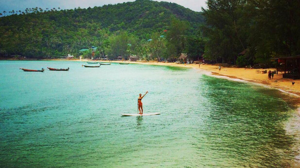 PHOTO Géraldine Lapalus: la bombe de Camping Paradis topless en Thaïlande