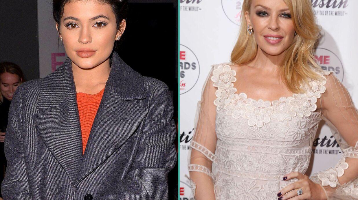 Kylie Jenner fait déposer son prénom comme une marque, Kylie Minogue l'attaque