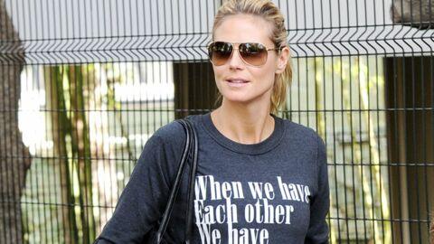 Heidi Klum pose sans maquillage pour la bonne cause