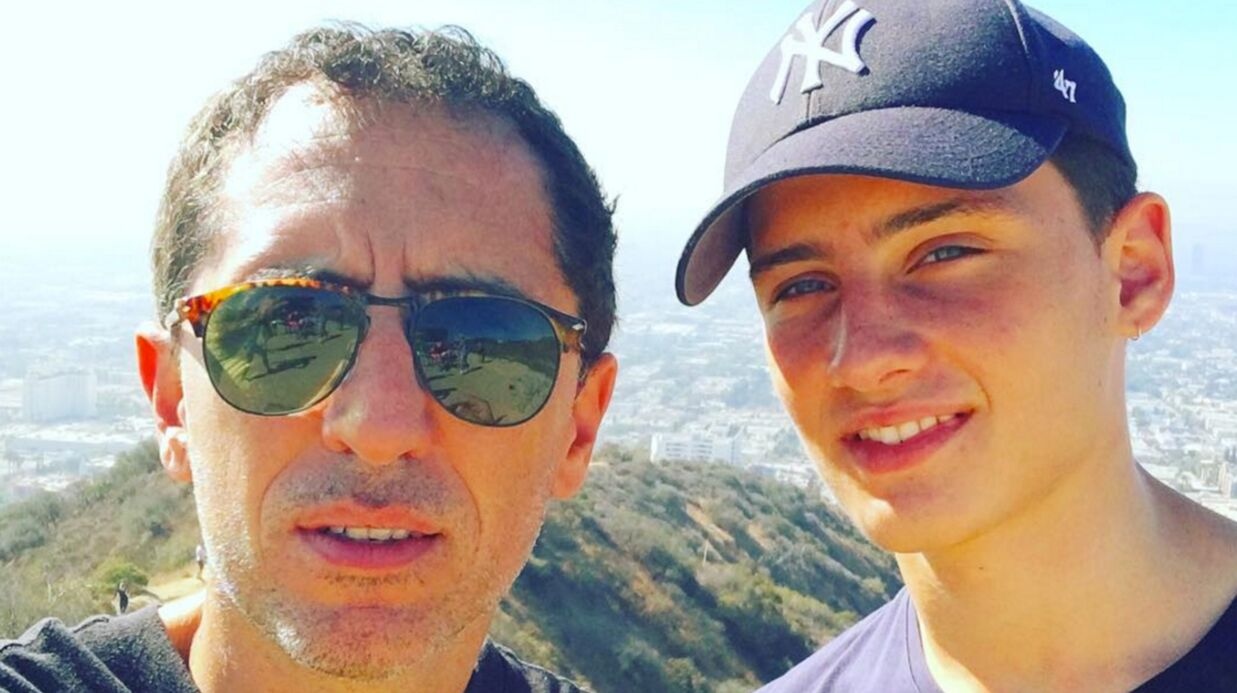 Gad Elmaleh partage une touchante photo pour l'anniversaire de son fils Noé