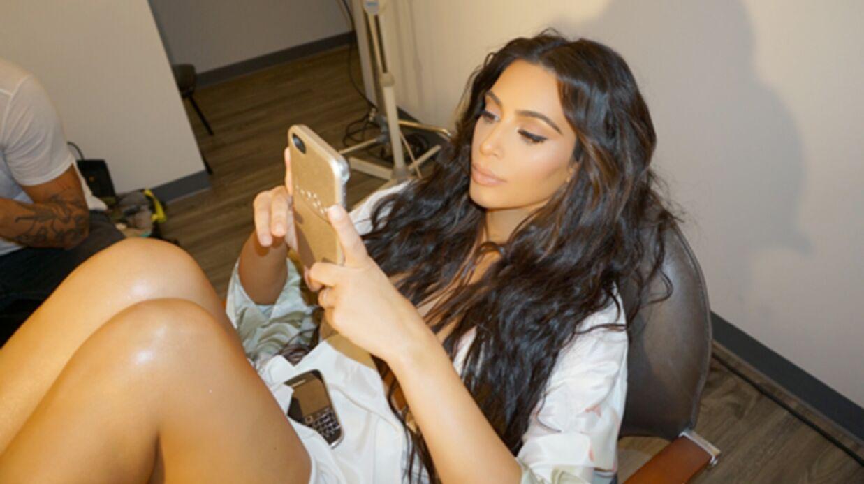 Kim Kardashian fait son retour sur les réseaux sociaux