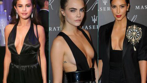 PHOTOS Selena Gomez, Kim Kardashian et d'autres beautés très décolletées à la soirée CR Fashion