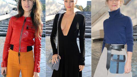 PHOTOS Charlotte Gainsbourg étonnante, Miranda Kerr osée au défilé Louis Vuitton
