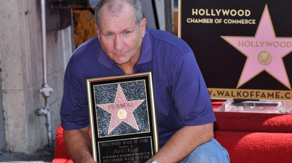 DIAPO Ed O'Neill (Al Bundy) a son étoile sur le Walk of Fame