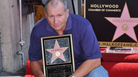DIAPO Ed O'Neill (Al Bundy) a son étoile sur le Walk of Fame