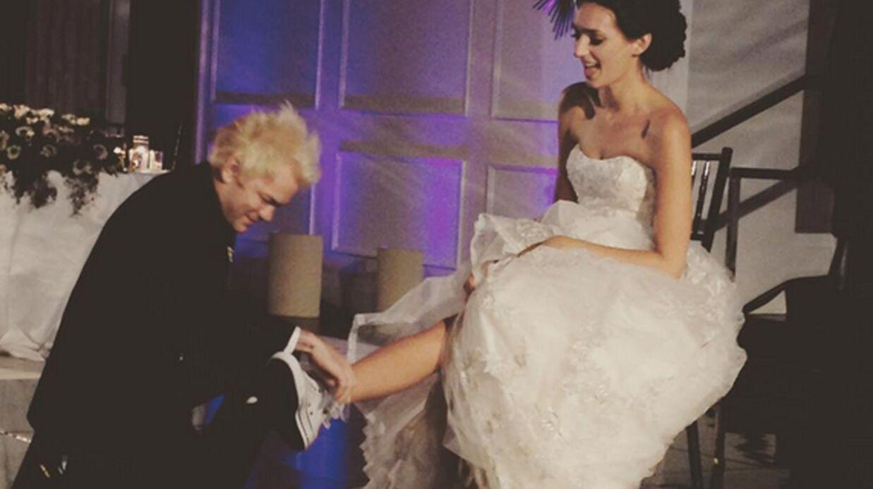 PHOTOS Deryck Whibley (Sum 41): après avoir frôlé la mort, l'ex-mari d'Avril Lavigne s'est marié