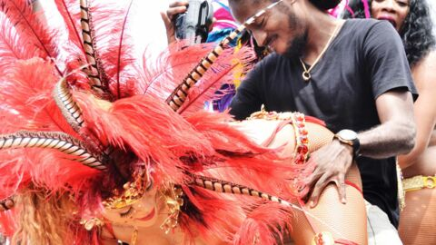 DIAPO Rihanna ultra chaude lors d'une fête