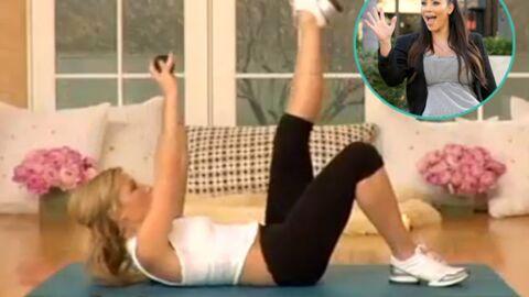 On a testé: la gym post-grossesse de Kim Kardashian