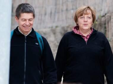 Angela Merkel et son mari en maillots de bain