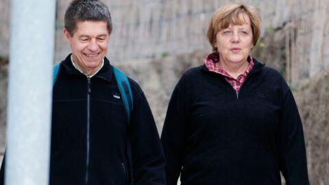 DIAPO Angela Merkel et son mari en maillot de bain