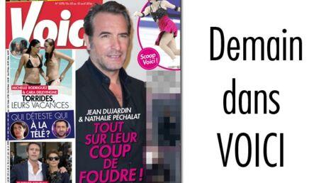 Demain dans Voici: le coup de foudre de Jean Dujardin et Nathalie Péchalat