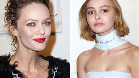 PHOTOS Vanessa Paradis: sa fille Lily Rose très stylée pour l'accompagner chez Chanel