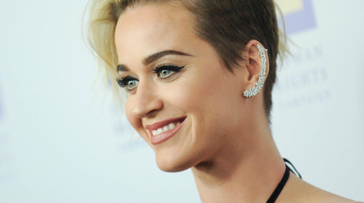 PHOTO Katy Perry poste un gros dossier pour faire un poisson d'avril à ses fans