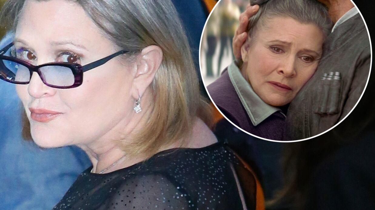 Carrie Fisher obligée de perdre 16 kilos pour pouvoir jouer dans Star Wars 7